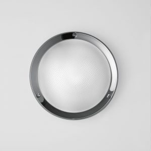 Niki Wall/Ceiling  Primastic Glass (Diffuser)Polished Aluminum (Structure) 100W
