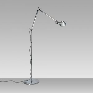 Tolomeo Mini Floor Aluminum