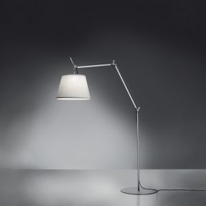 Tolomeo Outdoor Floor LED White (diffuser)aluminum (body & Base)